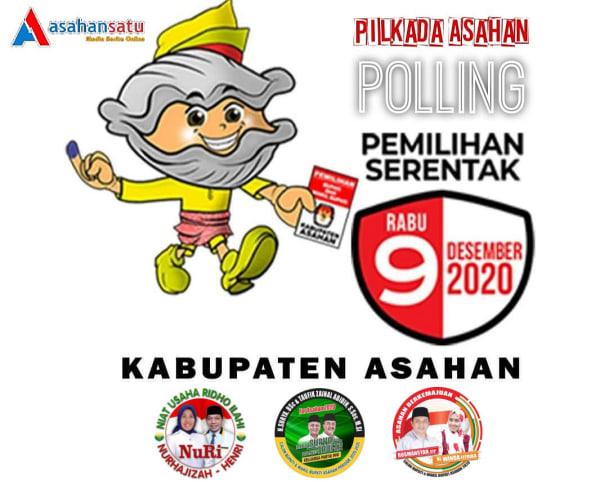 Polling Pilkada Asahan 2020 Asahansatu