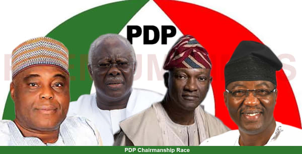 Image result for Bode George Quit PDP Chairmanship Race at the Last Minute