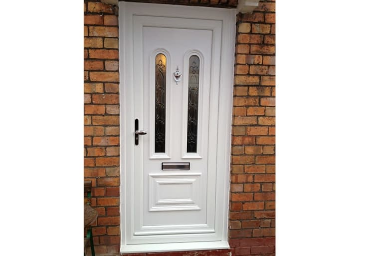 pretty nice 6e47c 993fd How Much Does it Really Cost to Replace a Front Door in 2019?