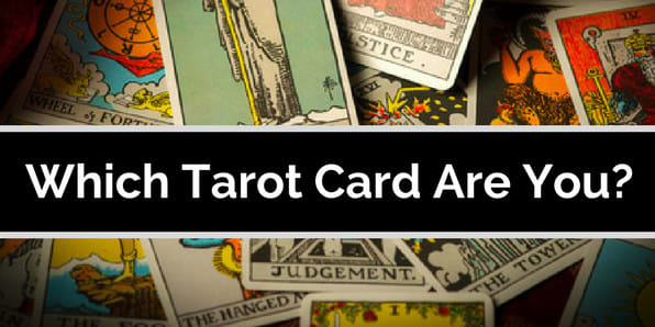 Quiz #2 (Has CTA buttons) Tarot Cards are commonly used to