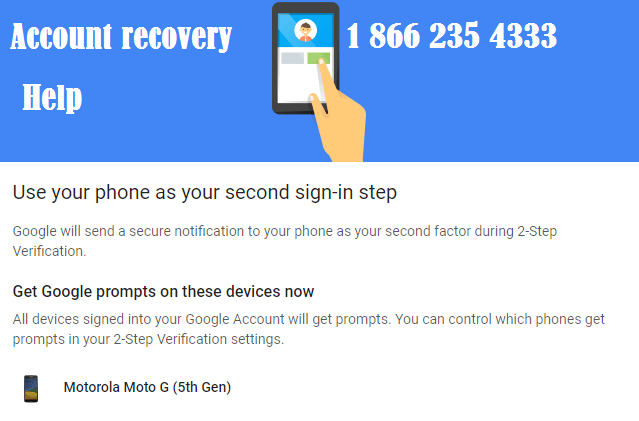 How to recover Google account password