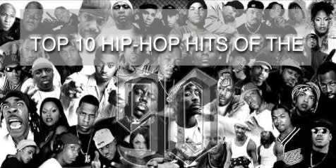 TOP 10 HIP-HOP HITS OF THE 90's