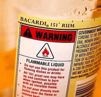 bacardi 151 percent alcohol