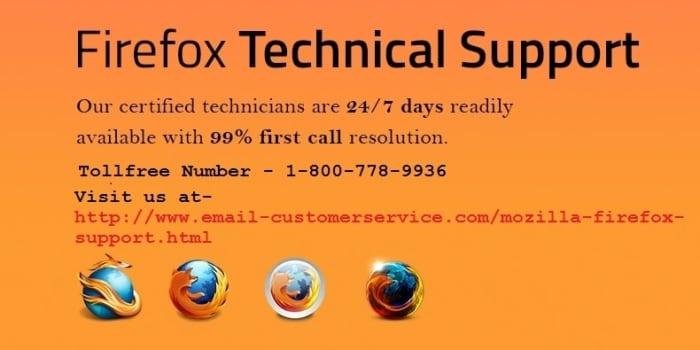 Mozilla Firefox Customer Support Number +1-800-778-9936