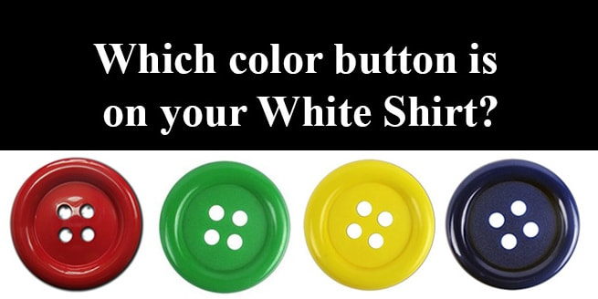 What Color are Your Buttons Quiz | The White Shirt