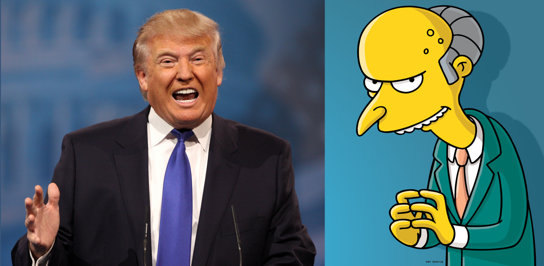 Who Said It: Donald Trump or Mr. Burns?