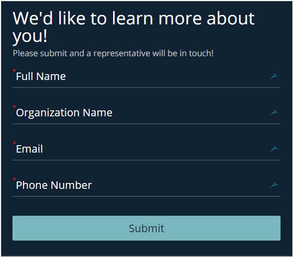 beautiful online form