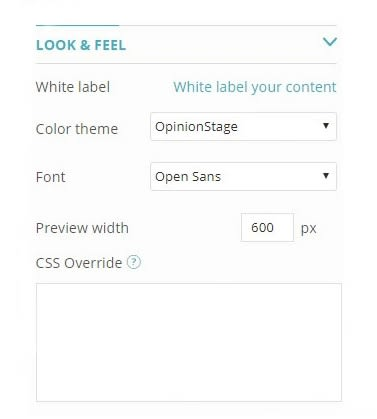 survey maker customization dashboard