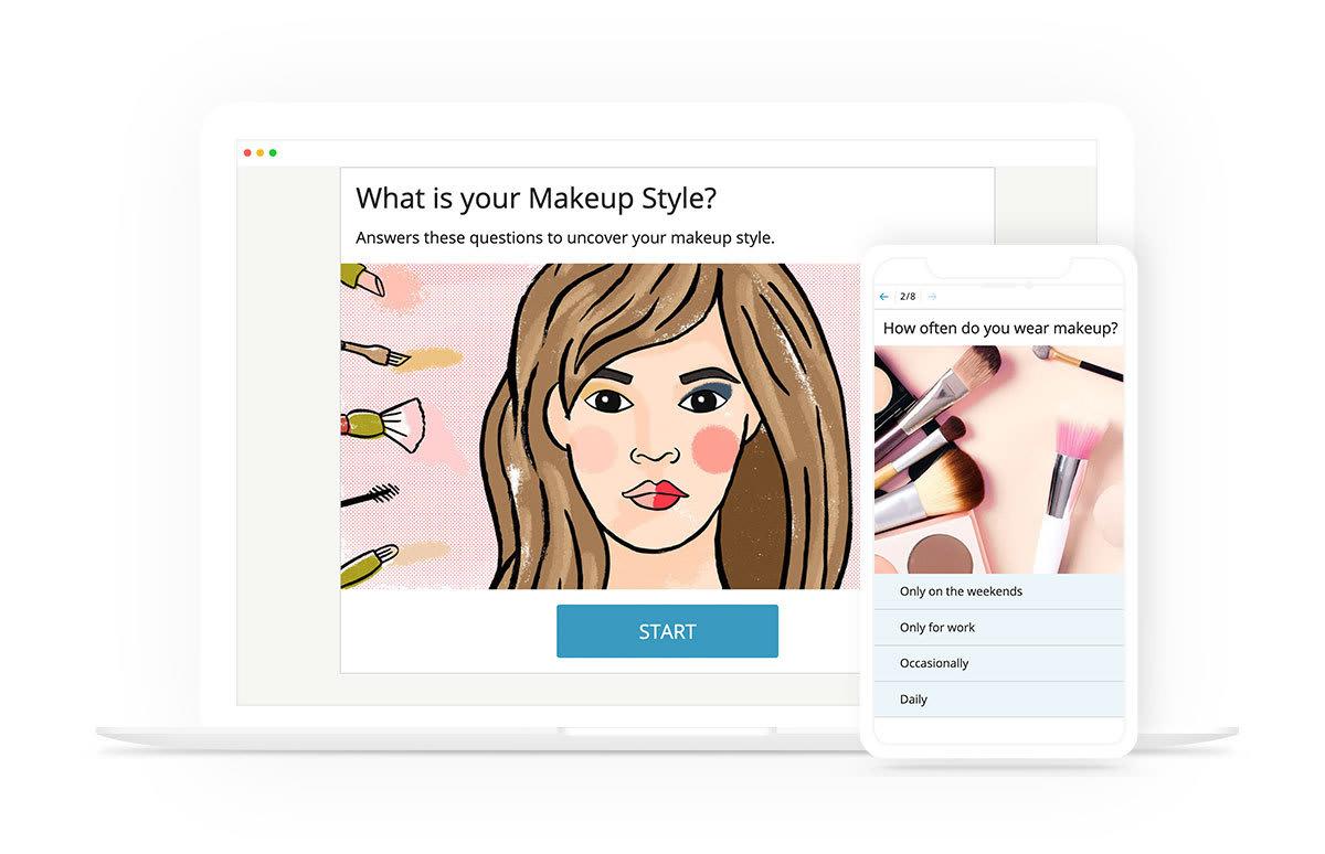 Online quiz maker example