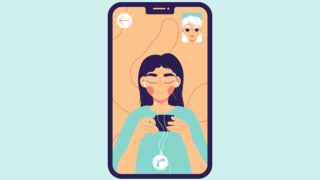 Mobile zoom conversation