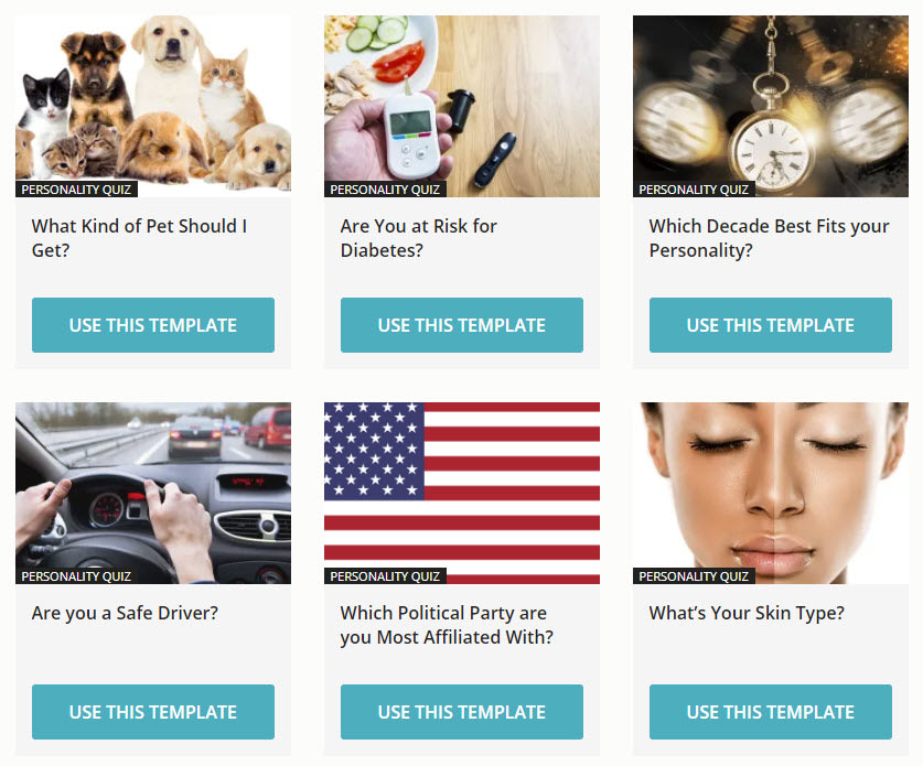 product finder templates