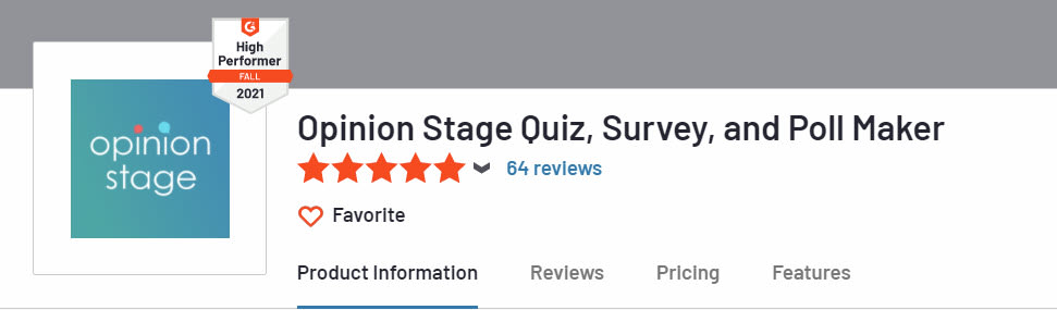 g2crowd opinion stage